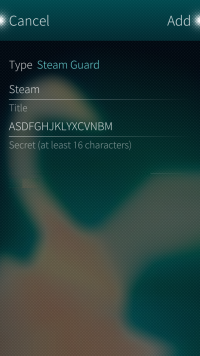 Settings for Steam Guard